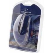 Mouse Esperanza TM111B Titanum Optic 1000DPI Albastru