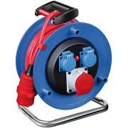 Brennenstuhl przedłużacz elektryczny siłowy na bębnie 5x1,5 25m 400V IP44 Przedłużacz bębnowy Garant 1182774130