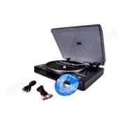 IBIZA SOUND Platine Disques 33 et 45trs. USB Ibiza + Audacity