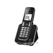 Panasonic KX-TGD310PDB DECT telefon, crna