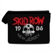 Skid Row - New Jersey '86 Messenger Bag, Messenger Shoulder Bag