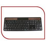 Клавиатура беспроводная Logitech Wireless Solar Keyboard K750 920-002938
