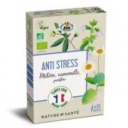 Nature & Santé Ampoules Bio Anti-Stress 20x10ml - Aux plantes françaises