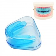 Silicona Utilidad Diente Orthodontic Appliance Brace Higiene Oral Dental Care Equipment - Blue