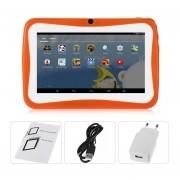 "Los Niños De 7"" Tablet PC 1,5 GHZ Quad Core 8GB WIFI Android Tablet Naranja De Pantalla De 1024x600"
