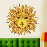 Walltola Mesmerizing Sun Wall Sticker