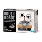 Great Gizmos - Dam - Kit De Fabrication - Fun Mechanics : Robot Brosse - Langue: Anglais Import Grande Bretagne