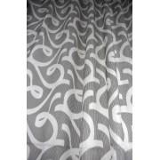 Zavesa sa crno sivim detaljima 1290