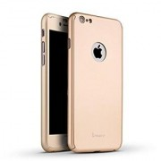 iPaky 360 Protective Body Case with Tempered Glass for Apple 5/5S (Gold)