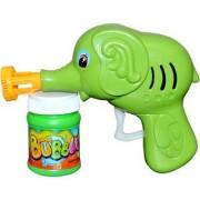 Hand Pressing Bubble Making Gun toy (Multicolor)