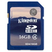 Memorija SD 16GB Kingston Class 4, SD4/16GB *