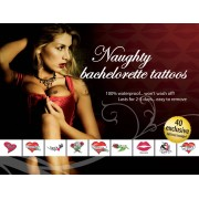 Adult Body Art Tatouages Temporaires Naughty Bachelorette Tattoos