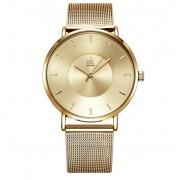 Shengke Złoty zegarek damski SK na bransolecie