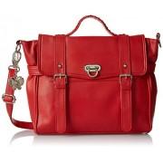 Butterflies Handbag Red (BNS 0311)