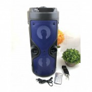 Boxa portabila cu 2 Difuzoare 12W USB, Bluetooth Radio ZQS-4209