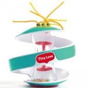 Бебешка активити играчка - Малки умничета Tiny Love Inspiral Rainstick, тюркоаз, 0794462
