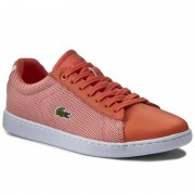 Сникърси LACOSTE - Carnaby Evo 117 1 7-33SPW1010M2W Org/Wht
