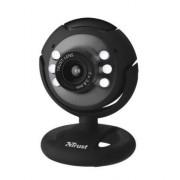 Webkamera, beépített mikrofonnal, LED világítással, USB, TRUST SpotLight (TR16429)