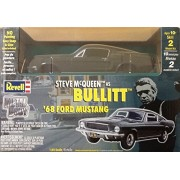 Revell Steve McQueen Bullitt 1968 Ford Mustang GT Fastback 1/25 Scale Metal Kit Green