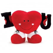 Grabadeal Valentine Heart holding I and U (Red) - 40 cm