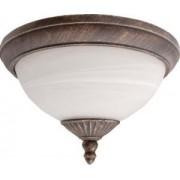 Kültéri mennyezeti lámpa d33,5cm arany/fehér alabástrom Madrid 8377 Rábalux