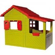 Детска къща за за игра - Цветната къща, Smoby, 310247