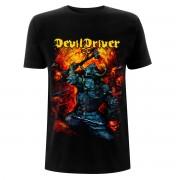 Herren T-Shirt Metal Devildriver - Warrior - NNM - RTDDTSBWAR