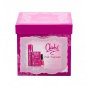 Revlon Charlie Pink подаръчен комплект EDT 30 ml + спрей за тяло 75 ml + лак за нокти Nail Enamel 14,7 ml Sweet Tart за жени