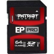 Card de Memorie Patriot EP Pro SDXC 64GB Clasa 10 UHS-I 90 MB/s