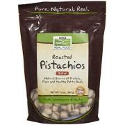 Now Foods Pistachos asados con la sal del mar 12 oz.
