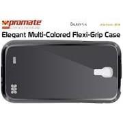 Promate Akton-S4 Elegant Multi-Colored Flexi-Grip Case for Samsung Galaxy S4-Black Retail Box 1 Year Warranty