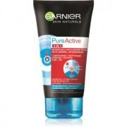 Garnier Pure Active mască facială neagră, contra punctelor negre și a acneei, cu cărbune activ 3 în 1 150 ml