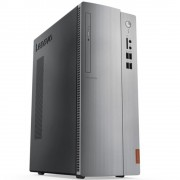 Desktop, Lenovo IdeaCentre 510 /Intel i5-7400 (3.5G)/ 8GB RAM/ 1000GB HDD/ DOS + подарък KBD & Mouse (90G800J4BG)