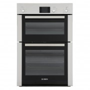 Bosch Serie 6 Classixx HBM13B251B Double Built In Electric Oven - Stainless Steel