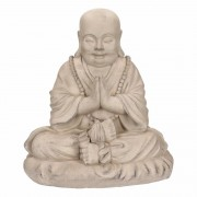 Stone Lite Boeddha beeldje mediterend 35 cm