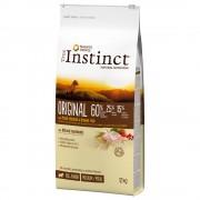 True Instinct Original Junior Medium-Maxi con pollo - Pack % - 2 x 12 kg