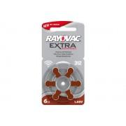 Rayovac Hörbatterier 312 6 st
