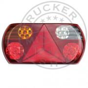 FULL LED hátsó lámpa 5 funkciós Bal 12/24V