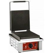 """Diamond Gaufrier électrique pour """"feuille gaufrée à cornet"""" avec pieds réglables 305x40x(h)230mm 1.6kW"""