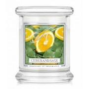 Kringle Candle Citrus and Sage Świeca zapachowa 0,127 kg