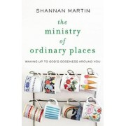 The Ministry of Ordinary Places: Waking Up to God's Goodness Around You, Paperback/Shannan Martin