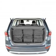 Car-Bags Seat Ateca 4WD (2016-heden) 6-Delige Reistassenset zwart