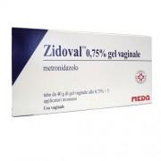 Meda Pharma Spa Zidoval 0,75% Gel Vaginale Tubo Al Da 40 G Con 5 Applicatori