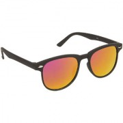 Arzonai Black Colorify Wayfarer UV Protection Sunglasses For Men & Women [MA-301-S4 ]