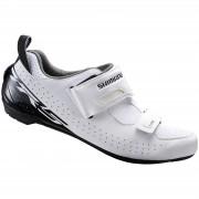 Shimano TR5 SPD-SL Triathlon Shoes - White - EU 42 - White