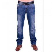 Cars Jeans Bedford Reading ( Stonewashed Used ) - Blauw - Size: 36/36