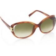 Fendi Over-sized Sunglasses(Green)