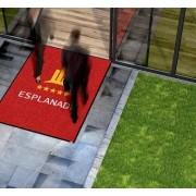 Logomat - Op Maat - Borstelmat - Voor Buiten