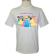 Camiseta Oito Princesas Disney - Coleção Princesas Disney
