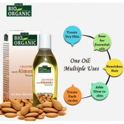 Indus Valley BIO Organic Cold Pressed Sweet Almond Oil